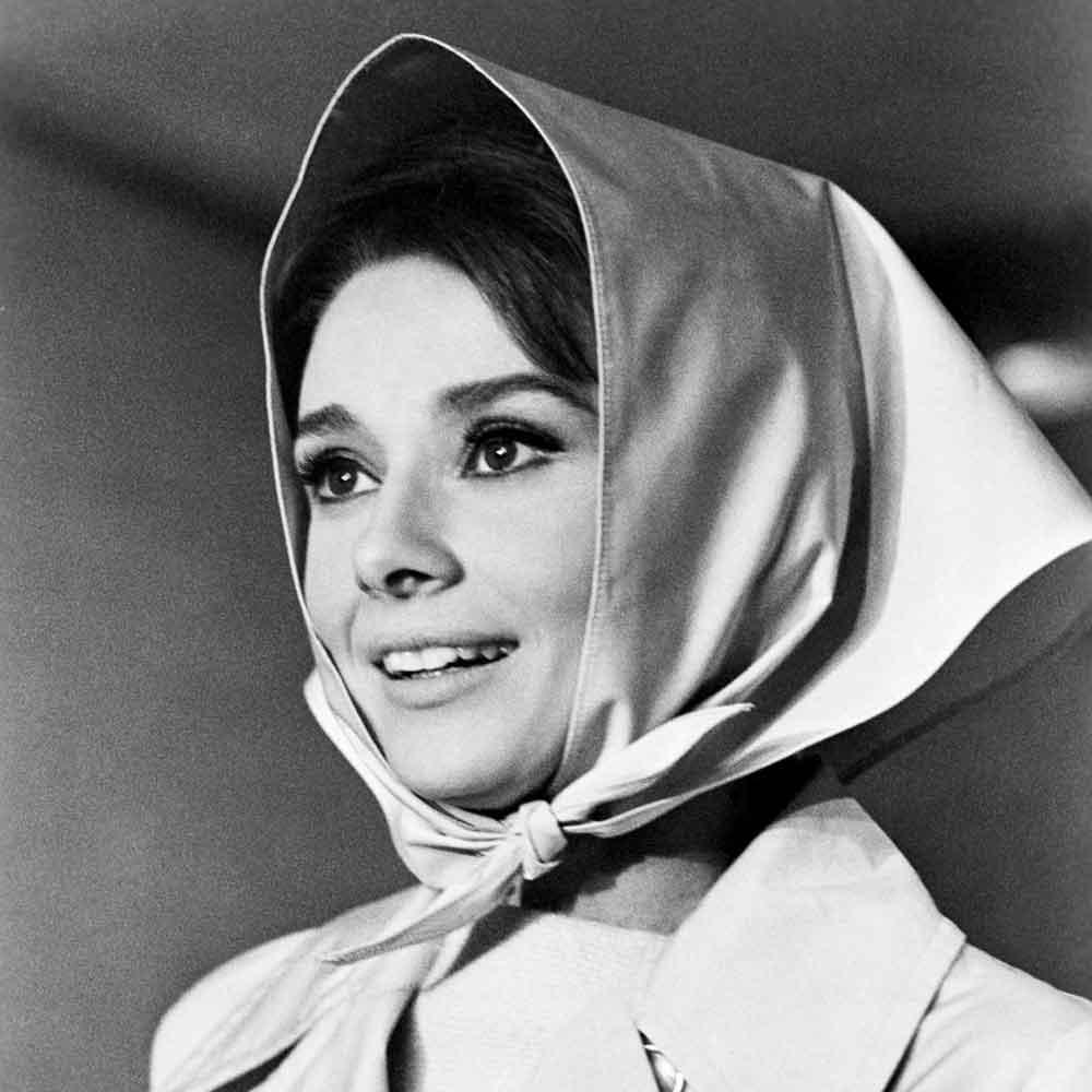 Audrey Hepburn foulard